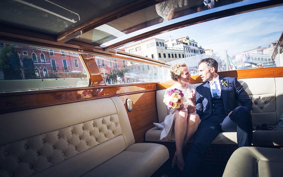 Splendido Matrimonio a Venezia //Canal Grande – Palazzo Pisani Moretta