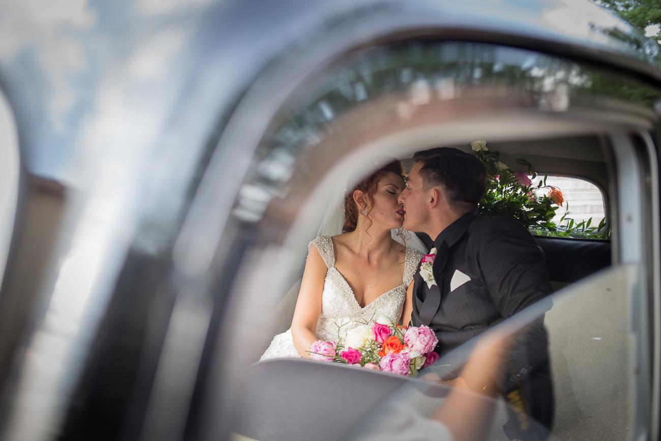 fotografa torino matrimonio bacio