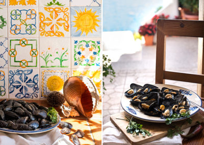 cozze food photography