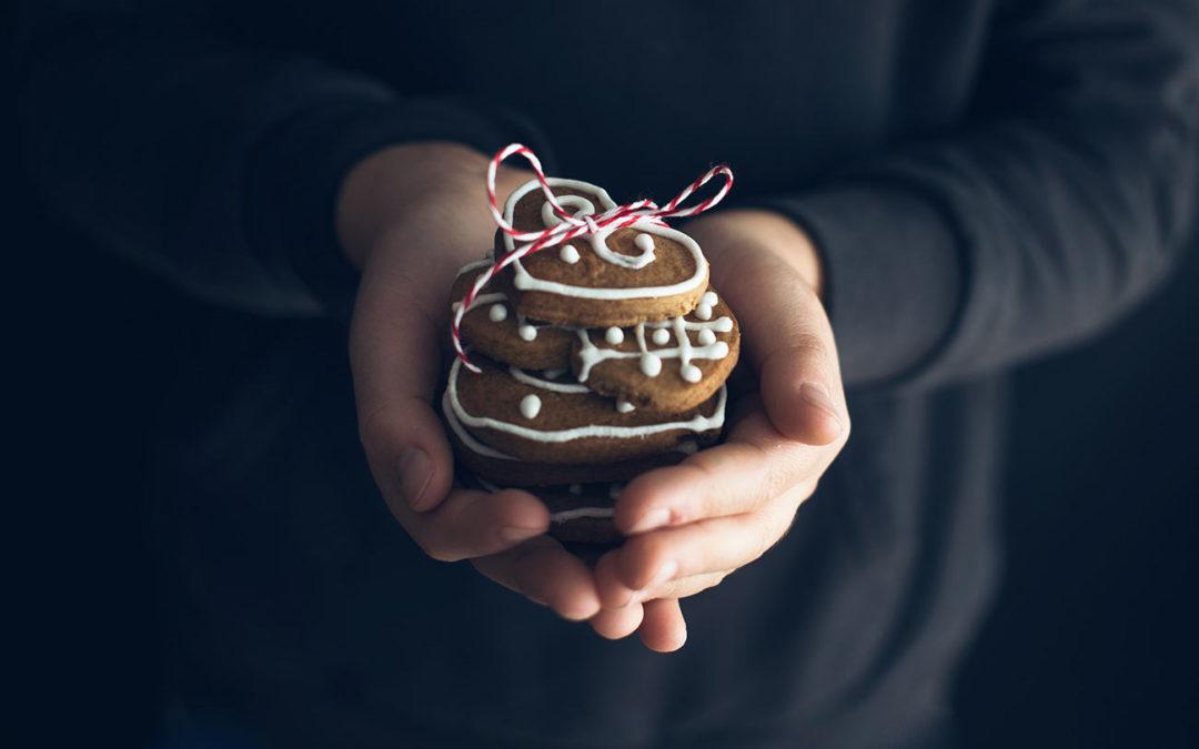 E' Natale e noi facciamo i biscotti di pan di zenzero!