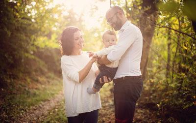 Tiberio e una splendida giornata d'autunno | Fotografo bambini e famiglie Torino