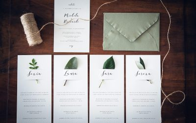 Partecipazioni di nozze originali, eleganti in una parola…uniche!